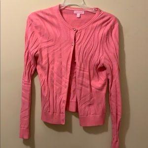 Lily Pulitzer cardigan pink